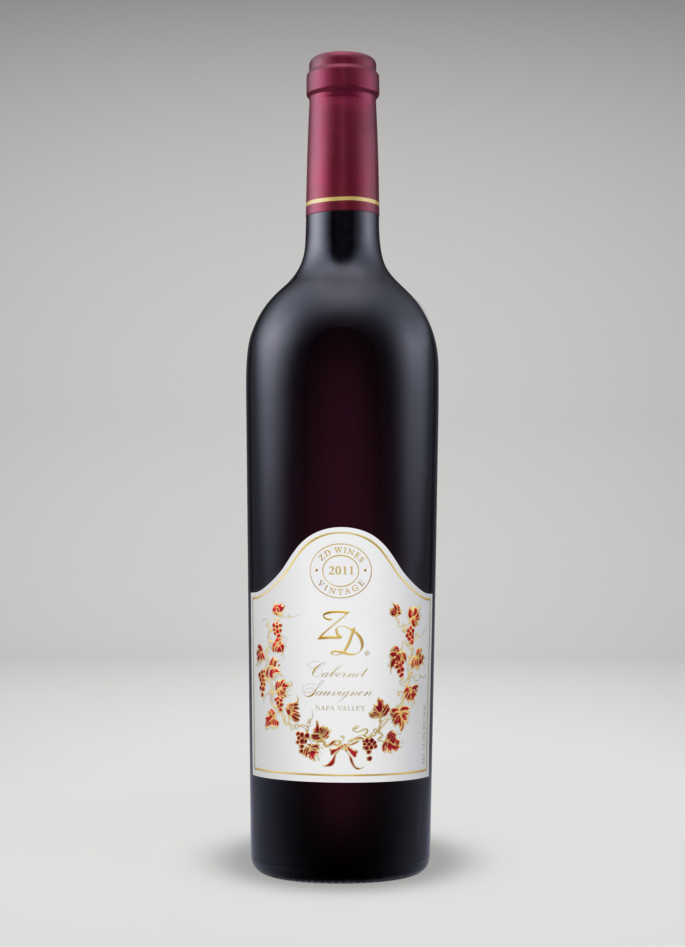 A bottle of 2011 Cabernet Sauvignon